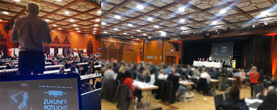 Rückblick Zukunft-Rotlicht 2019 - Blick in den Saal